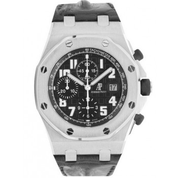 Captain Replica Watch - Audemars Piguet Royal Oak Offshore Chronograph Black Dial 26170ST.OO.D101CR.03