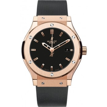Captain Replica Watch - Hublot Classic Fusion 45mm Rose Gold 511.PX.1180.RX