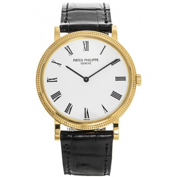 Captain Replica Watch - Patek Philippe Calatrava Gold 35mm 5120J-001