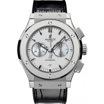 Captain Replica Watch - Hublot Classic Fusion Chronograph 42mm Silver 541.NX.2610.LR