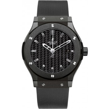 Captain Replica Watch - Hublot Classic Fusion 42mm Black Magic 542.CM.1770.RX