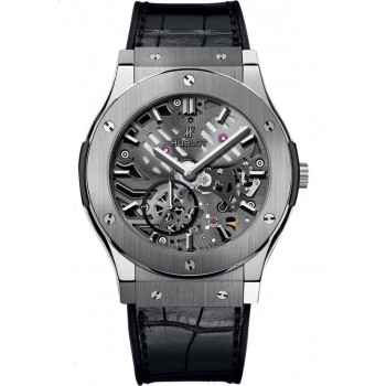 Captain Replica Watch - Hublot Classic Fusion Classico Ultra Thin Skeleton 545.NX.0170.LR