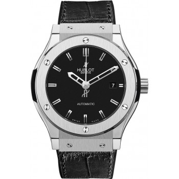 Captain Replica Watch - Hublot Classic Fusion 38mm Black Dial 565.NX.1170.LR