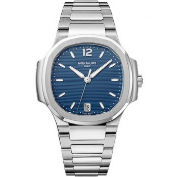 Captain Replica Watch - Patek Philippe Nautilus Stainless Steel Blue Dial Wo7118/1A-001