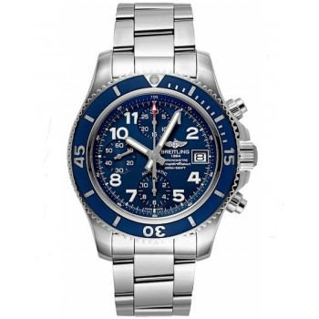 Captain Replica Watch - Breitling Superocean Chronograph 42 Steel Blue A13311D1/C936-161A