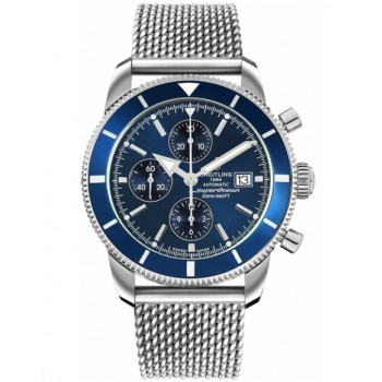 Captain Replica Watch - Breitling Superocean Heritage Chronograph 46 Gun Blue A1332016/C758