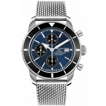Captain Replica Watch - Breitling Superocean Heritage Chronograph 46 Blue and Black A1332024/C817