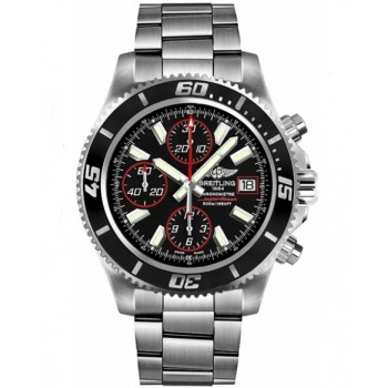 Captain Replica Watch - Breitling Superocean Chronograph II Black Red A1334102/BA81