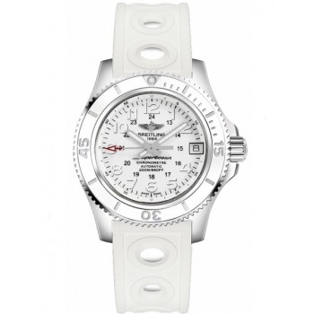 Captain Replica Watch - Breitling Superocean II 36 Hurricane White Dial A17312D2/A775-230S