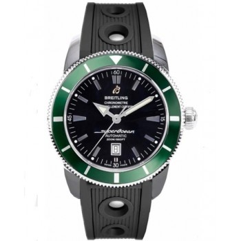 Captain Replica Watch - Breitling Superocean Heritage 46 Green Bezel A17320Q5/B868-201S
