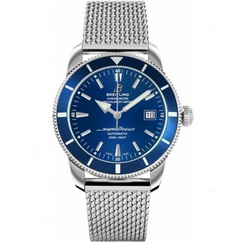 Captain Replica Watch - Breitling Superocean Heritage 42 Steel Gun Blue A1732116/C832