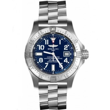Captain Replica Watch - Breitling Avenger Seawolf Steel Blue Dial A1733010/C756