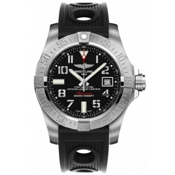Captain Replica Watch - Breitling Avenger II Seawolf Black Arabic Dial A1733110/BC31/200S