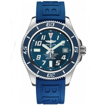 Captain Replica Watch - Breitling Superocean 42 Blue Dial Automatic A173643B/C868