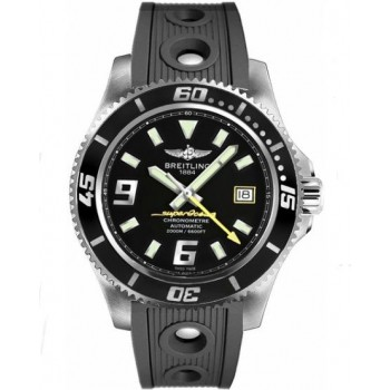 Captain Replica Watch - Breitling Superocean 44 Yellow Accents A1739102/BA78-200S