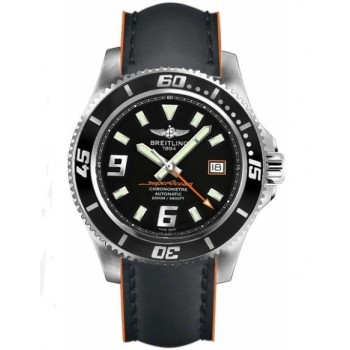 Captain Replica Watch - Breitling Superocean 44 Black and Orange A1739102/BA80-230X