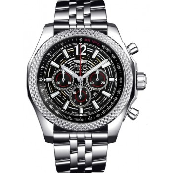 Captain Replica Watch - Breitling Bentley Barnato 42 Black Skeleton Dial A4139024/BC83