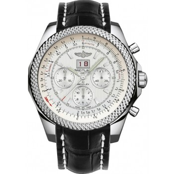Captain Replica Watch - Breitling Bentley 6.75 Silver Dial A4436412/G814
