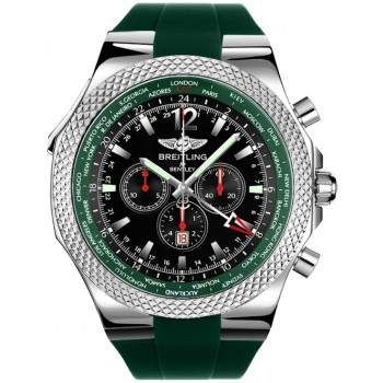 Captain Replica Watch - Breitling Bentley GMT British Racing Green A47362S4/B919/214S