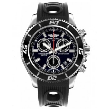 Captain Replica Watch - Breitling Superocean Chronograph M2000 Black Dial A73310A8/BB73
