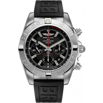 Captain Replica Watch - Breitling Chronomat 44 Flying Fish Black Dial AB011010/BB08