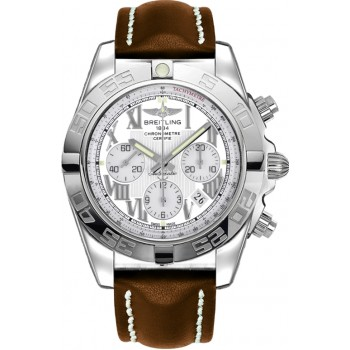 Captain Replica Watch - Breitling Chronomat 44 White Roman Dial AB011012/A690/433X