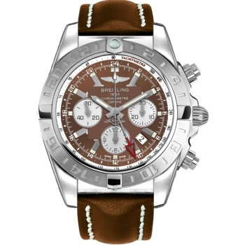 Captain Replica Watch - Breitling Chronomat GMT Metallica Brown Dial AB041012/Q586