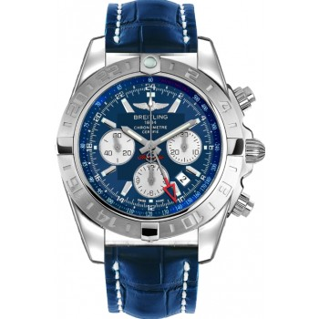Captain Replica Watch - Breitling Chronomat 44 GMT Blue Dial AB042011/C851/731P