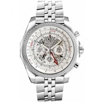 Captain Replica Watch - Breitling Bentley GMT Steel Silver Storm Dial AB043112/G774/990A