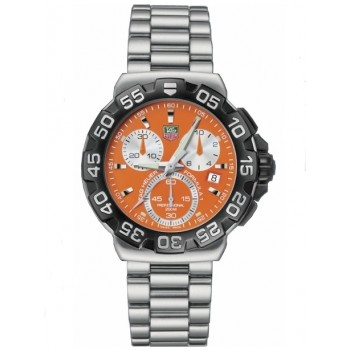 Captain Replica Watch - TAG Heuer Formula 1 Chronograph Orange Quartz CAH1113.BA0850