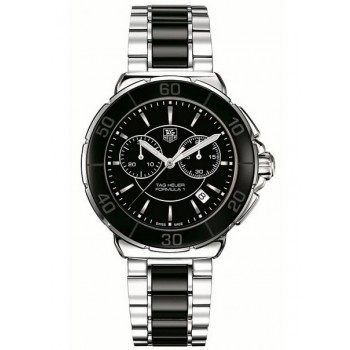 Captain Replica Watch - TAG Heuer Formula 1 Steel and Ceramic Unisex Quartz CAH1210.BA0862