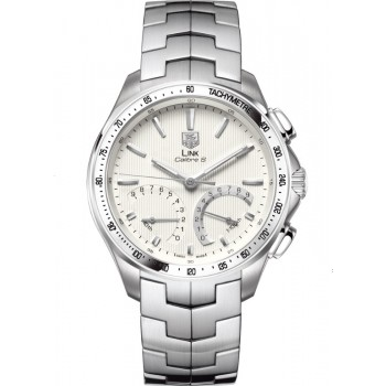 Captain Replica Watch - TAG Heuer Link Calibre S Chronograph Silver Dial CAT7011.BA0952
