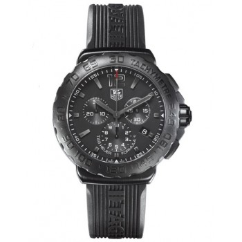 Captain Replica Watch - TAG Heuer Formula 1 Quartz Chronograph All Black CAU1114.FT6024