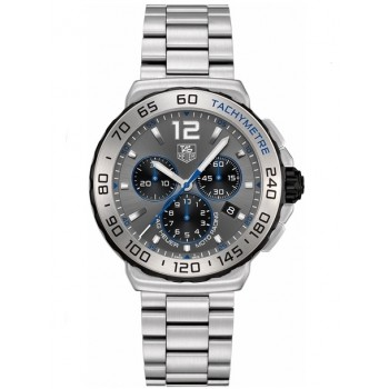 Captain Replica Watch - TAG Heuer Formula 1 Chronograph 41mm Grey Dial Quartz CAU1119.BA0858