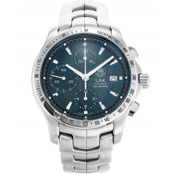 Captain Replica Watch - TAG Heuer Link Chronograph Blue Dial CJF2114.BA0594