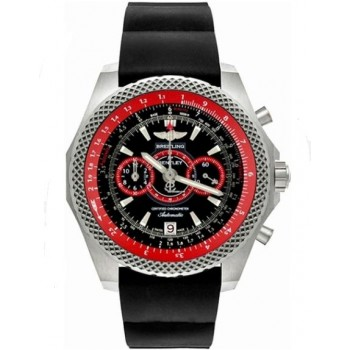 Captain Replica Watch - Breitling Bentley Supersports Black Dial Red E2736529/BA62