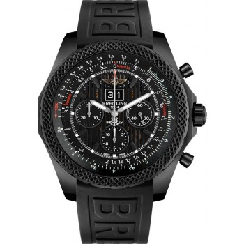 Captain Replica Watch - Breitling Bentley 6.75 Black Steel M4436413/BD27