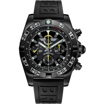 Captain Replica Watch - Breitling Chronomat 44 Blacksteel Limited Edition MB01109L/BD48/153S