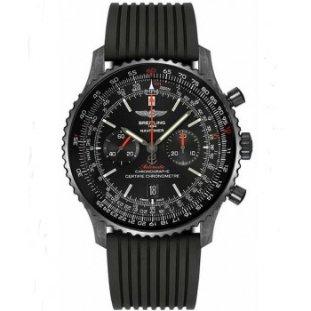 Captain Replica Watch - Breitling Navitimer 01 Chronograph 46mm Blacksteel MB012822/BE51/252S
