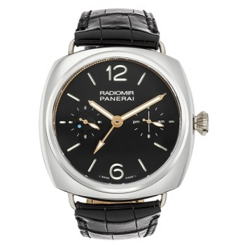 Captain Replica Watch - Panerai Radiomir Tourbillon GMT Platinum 48mm PAM00316