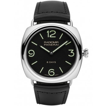 Captain Replica Watch - Panerai Radiomir Black Seal 8 Days Acciaio 45mm PAM00610
