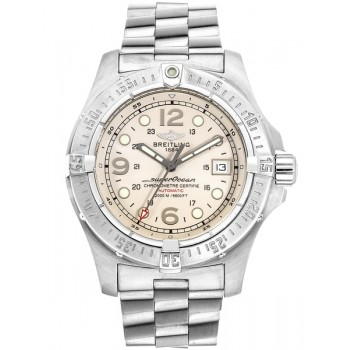 Captain Replica Watch - Breitling Superocean Steelfish X-Plus Steel Silver Dial Men's Watch