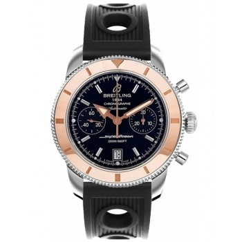 Captain Replica Watch - Breitling Superocean Heritage Chronograph 44 Rose Gold Bezel U2337012/BB81