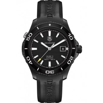 Captain Replica Watch - TAG Heuer Aquaracer Calibre 5 500M Black Titanium WAK2180.FT6027