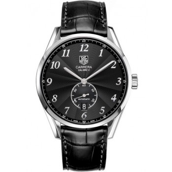 Captain Replica Watch - TAG Heuer Carrera Heritage Calibre 6 Black Dial WAS2110.FC6180