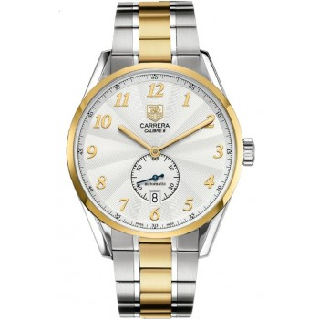 Captain Replica Watch - TAG Heuer Carrera Heritage Calibre 6 Steel and Gold WAS2150.BD0733