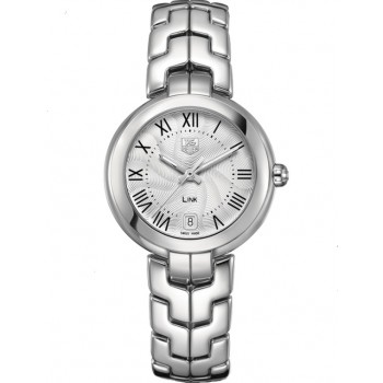 Captain Replica Watch - TAG Heuer Link Cameron Diaz Roman Dial For Women WAT1314.BA0956