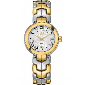 Captain Replica Watch - TAG Heuer Link 29mm Cameron Diaz Silver Roman For Women WAT1452.BB0955
