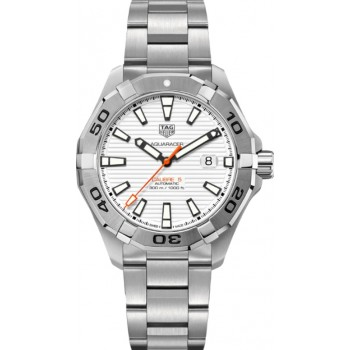 Captain Replica Watch - TAG Heuer Aquaracer 300M 43mm White Dial WAY2013.BA0927