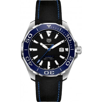 Captain Replica Watch - TAG Heuer Aquaracer 300M 43mm Black Dial WAY201C.FC6395